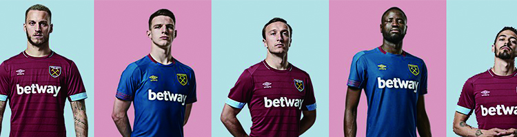 camiseta de futbol West Ham replica