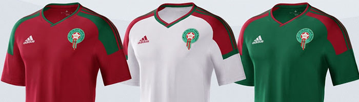 camiseta de futbol Marruecos replica