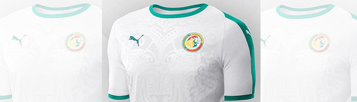 camiseta de futbol Senegal replica