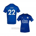 Camiseta Leicester City Jugador James 1ª 2019-2020