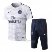 Chandal Paris Saint-Germain Manga Corta 2017-2018 Gris