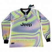 Camiseta Juventus EA Sports Manga Larga 2018-2019 Purpura