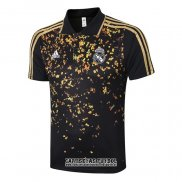 Camiseta Polo del Real Madrid 2020-2021 Negro y Oro