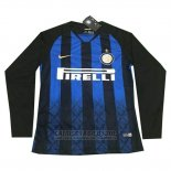 Camiseta Inter Milan 1ª Manga Larga 2018-2019