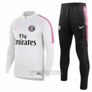 Chandal Paris Saint-Germain 2018-2019 Blanco