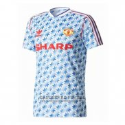 Camiseta Manchester United 2ª Retro 1990-1992