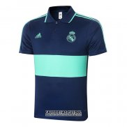Camiseta Polo del Real Madrid 2020-2021 Azul