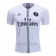 Camiseta Paris Saint-Germain Jordan 3ª 2018-2019 Blanco