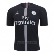 Camiseta Paris Saint-Germain Jordan 3ª 2018-2019 Negro