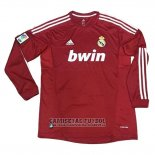 Camiseta Real Madrid UCL 2ª Manga Larga Retro 2011