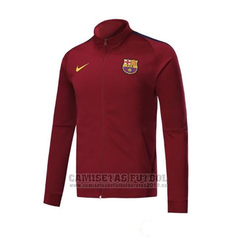 d1d5f833 Chaqueta Barcelona 2017-2018 Rojo|Comprar camisetas de futbol ...