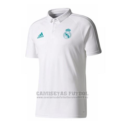 6ce3071c0f50f ... Camiseta Polo Real Madrid 2017-2018 Blanco