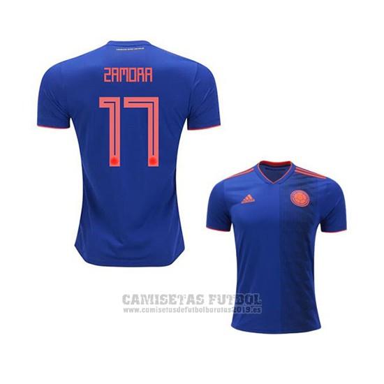 Camiseta Colombia Jugador Zamora 2ª 2018 23a436f4420a1